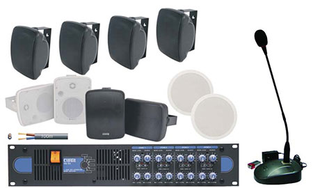 Multi Zone Paging System Crea
